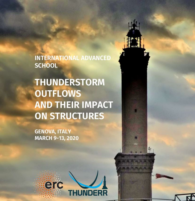 The International Advanced School on Thunderstorm Outflows and their Impact on Structures